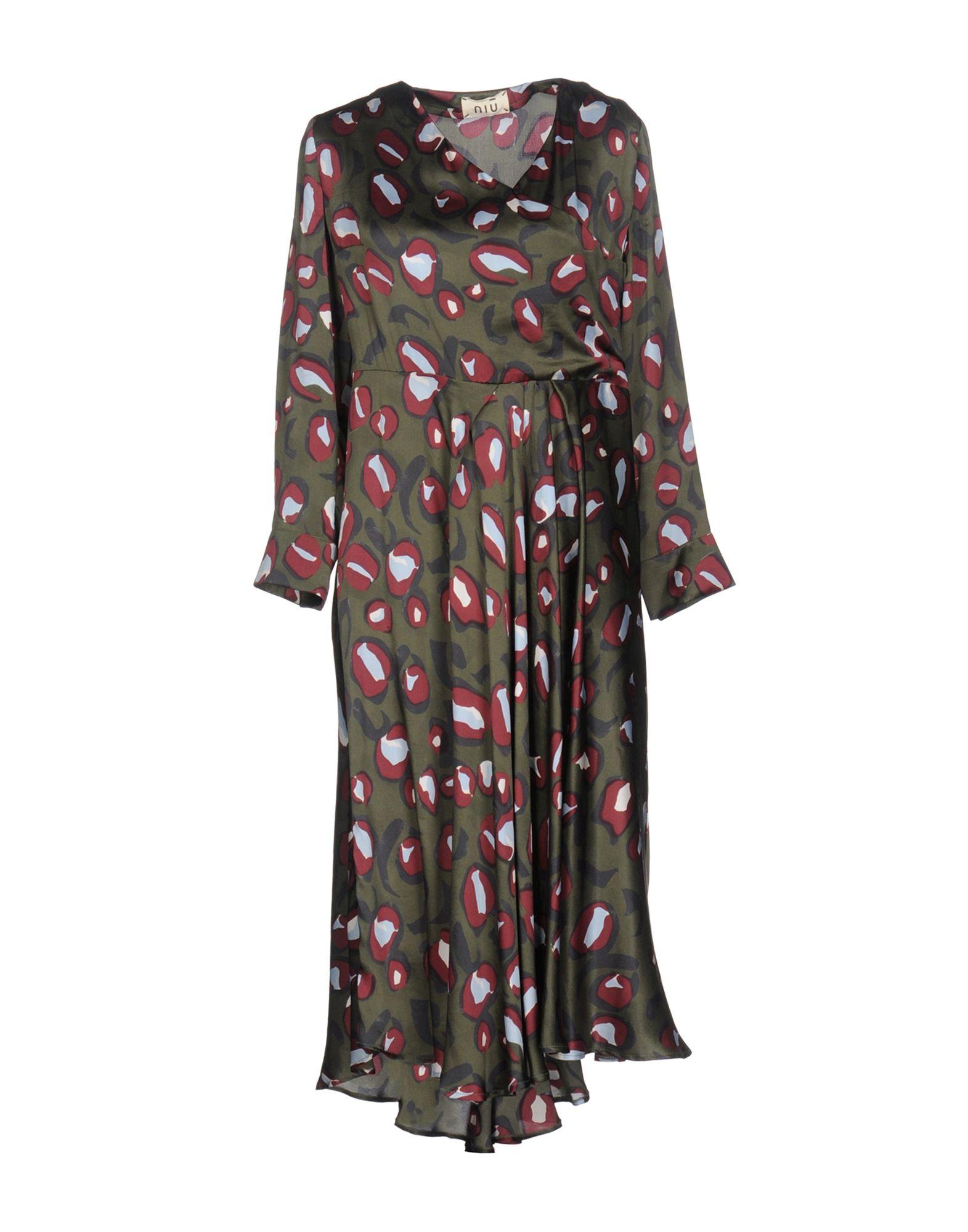 NIŪ Платье длиной 3/4 lisa corti платье длиной 3 4
