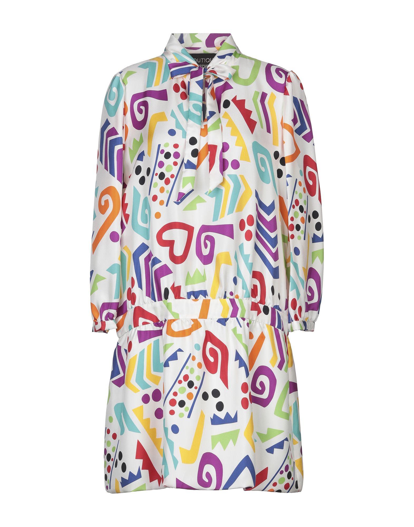 Фото - BOUTIQUE MOSCHINO Короткое платье moschino короткое платье