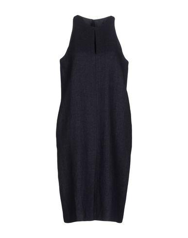 Платье до колена ANGEL SCHLESSER. Цвет: темно-синий