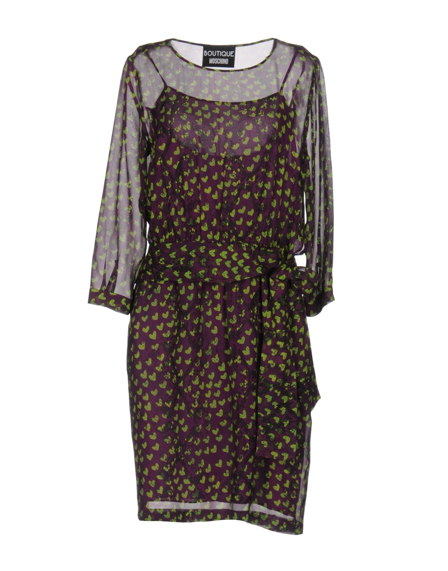 BOUTIQUE MOSCHINO Короткое платье блуза boutique moschino