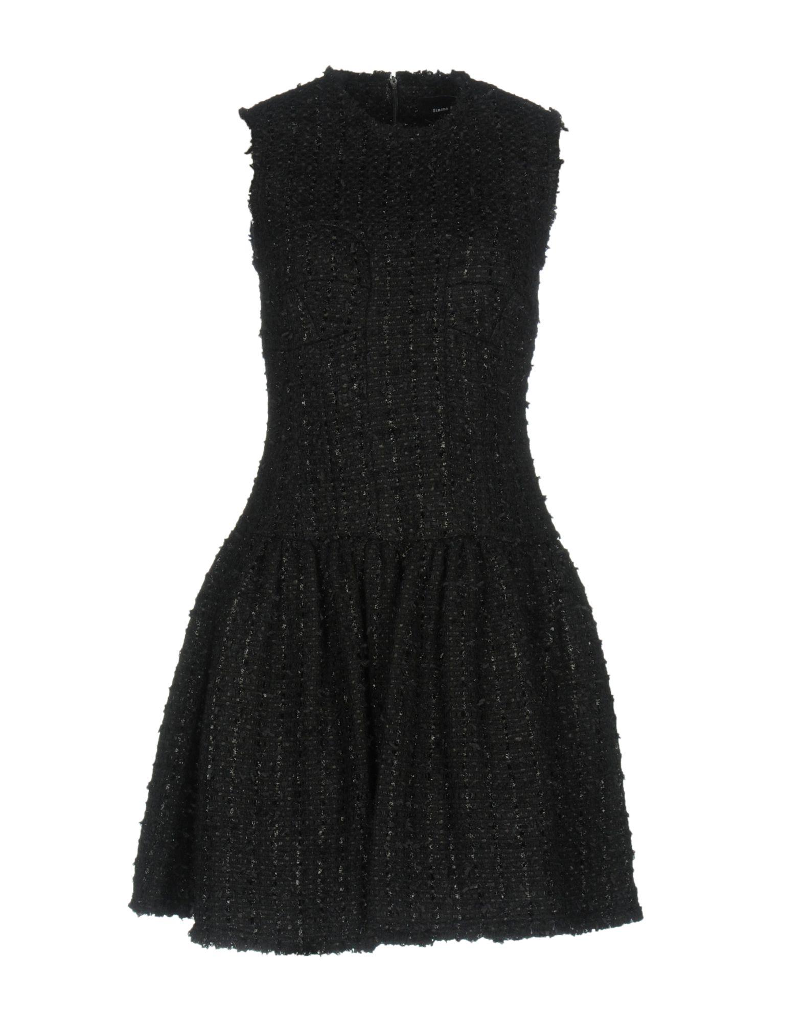 цена SIMONE ROCHA Короткое платье онлайн в 2017 году