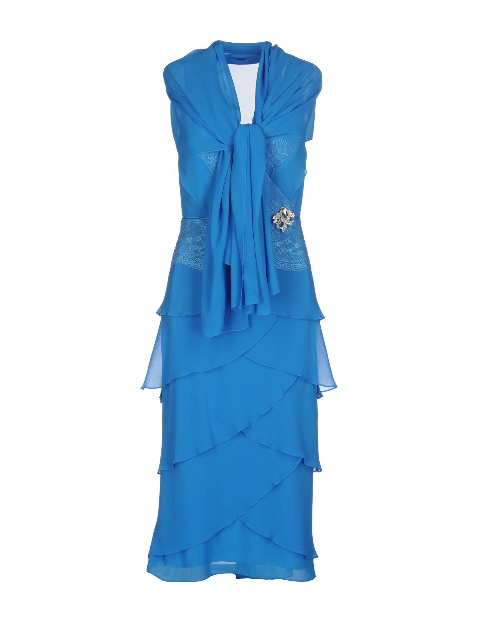 MUSANI COUTURE Платье длиной 3/4 moschino couture юбка длиной 3 4