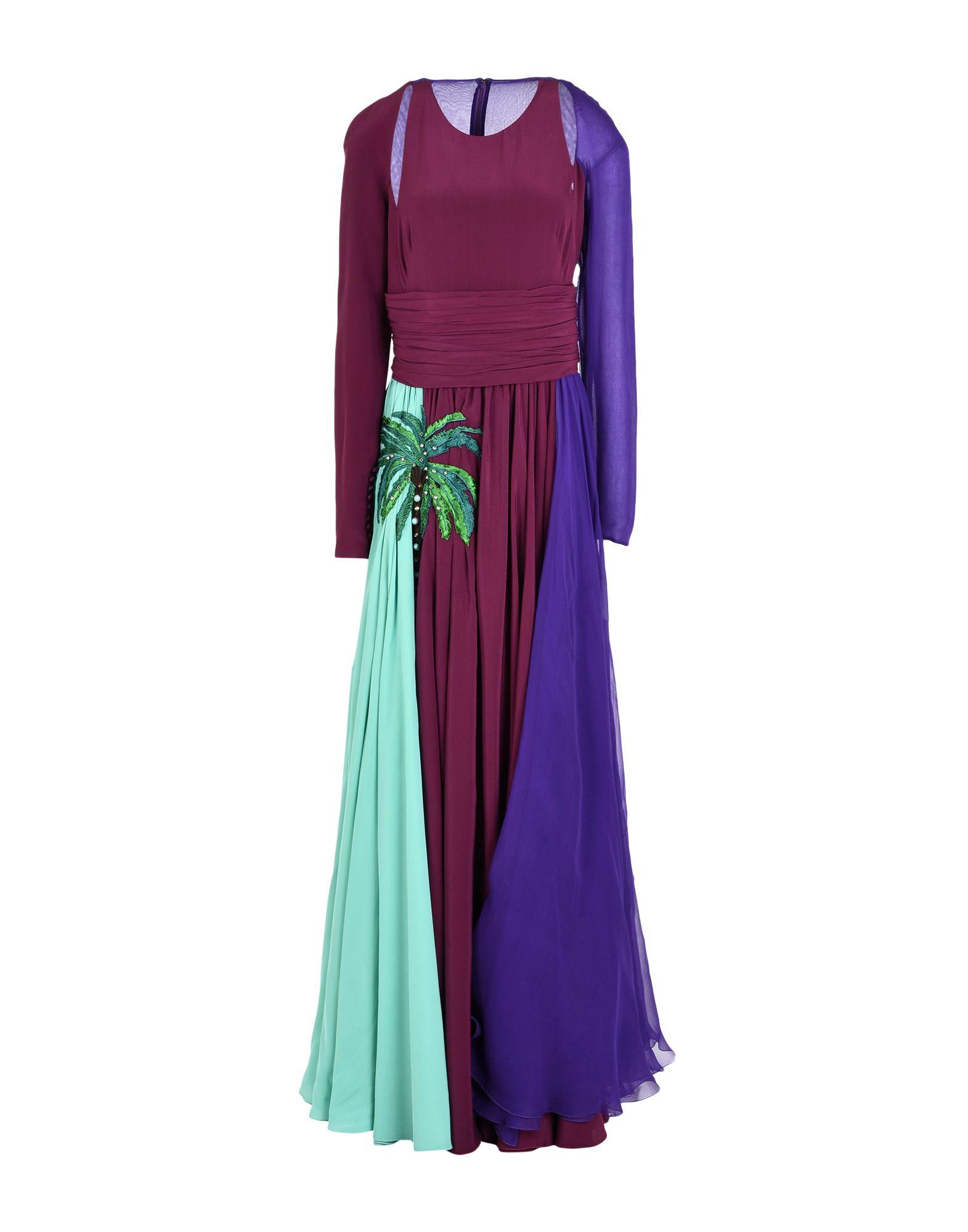 FAUSTO PUGLISI Длинное платье платье короткое спереди длинное сзади летнее