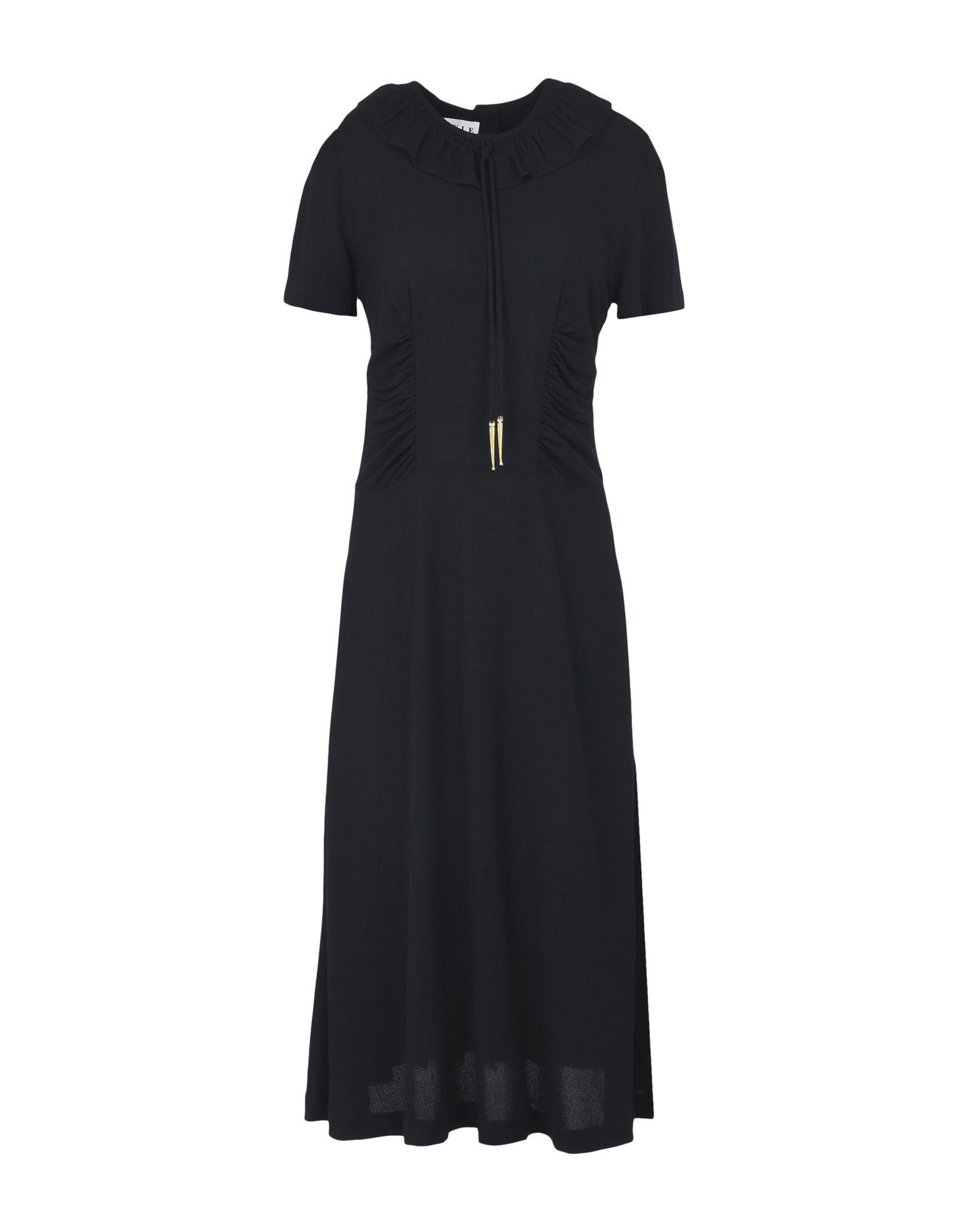 MAYLE Knee-Length Dress in Black