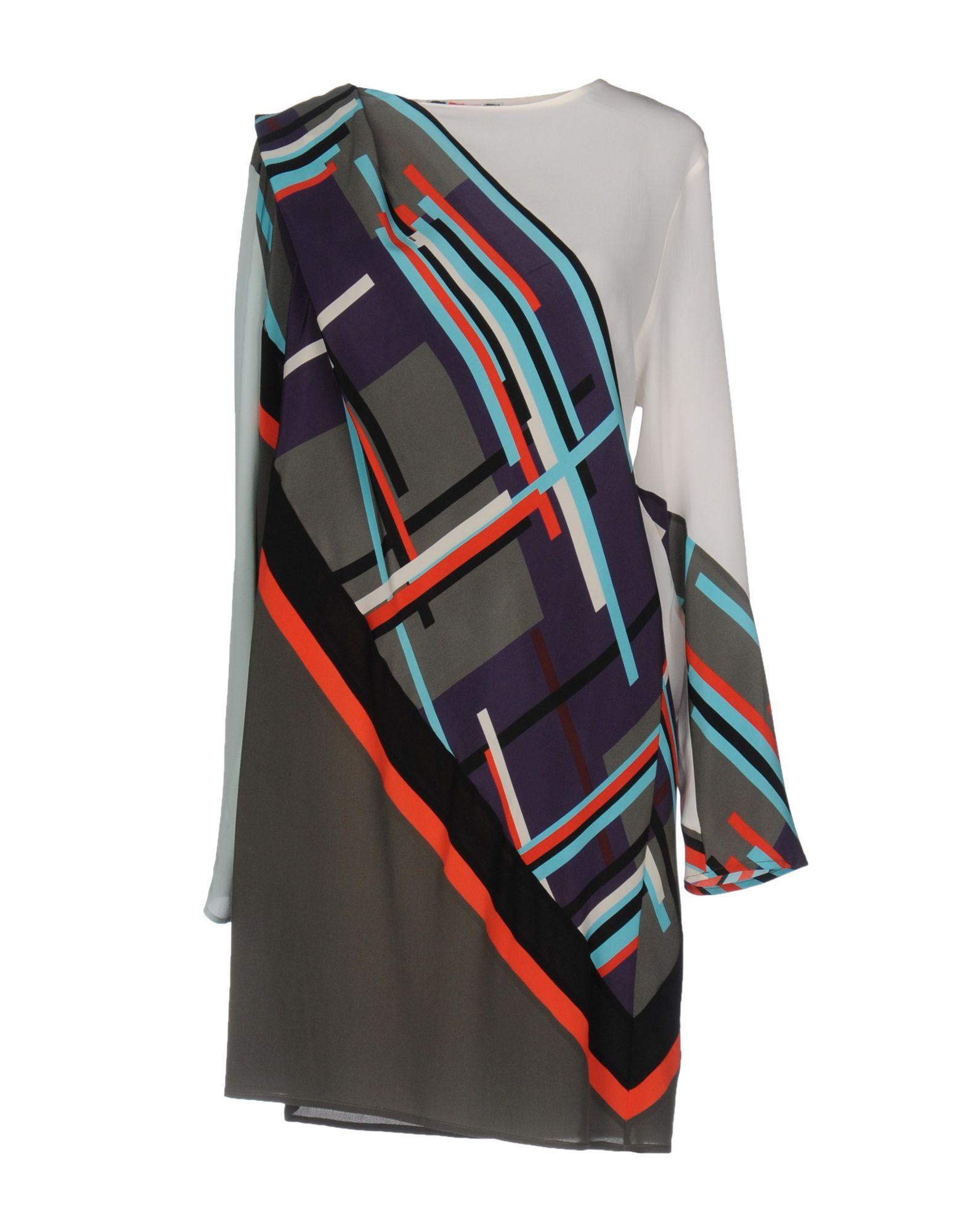 цена MSGM Короткое платье онлайн в 2017 году