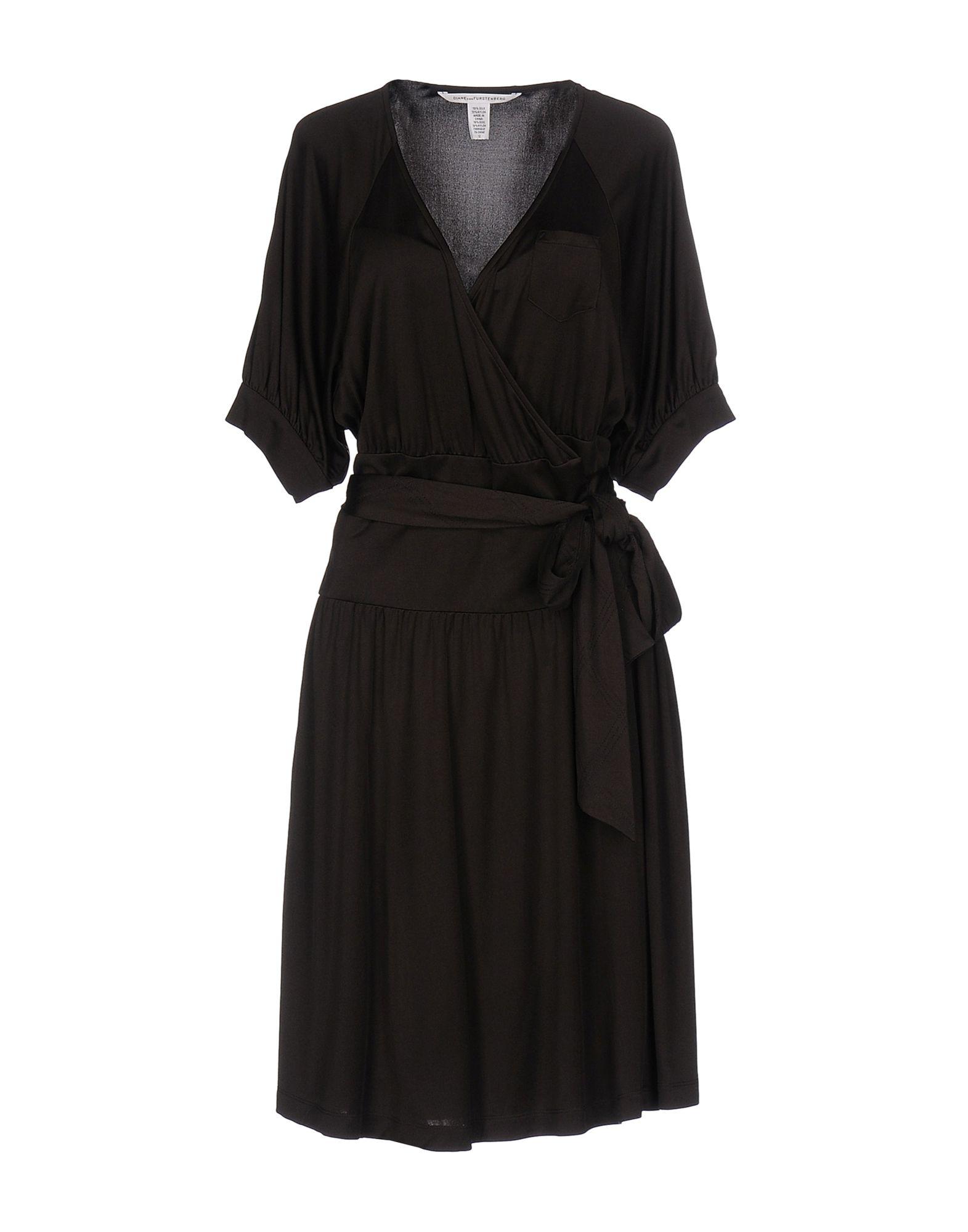 DIANE VON FURSTENBERG Платье до колена diane von furstenberg шелковое платье