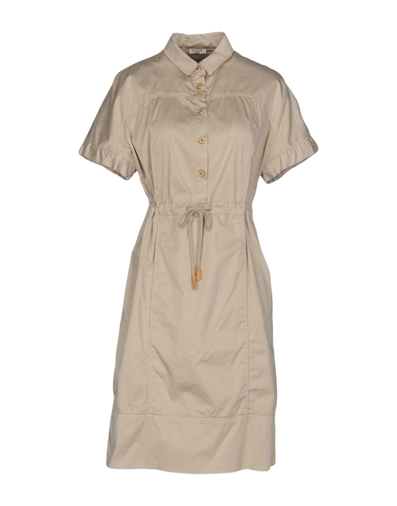 SIVIGLIA DENIM Короткое платье