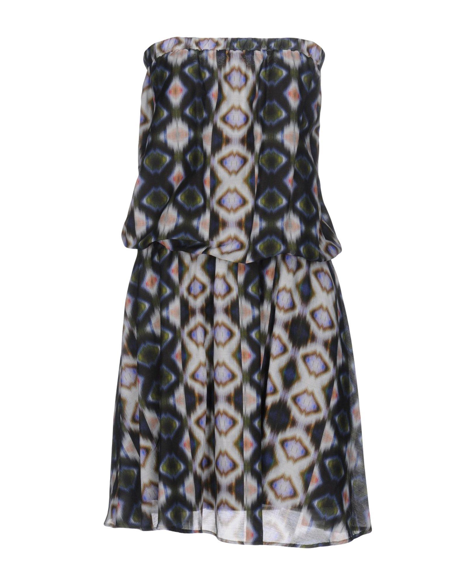 цена SONIA DE NISCO Платье до колена онлайн в 2017 году