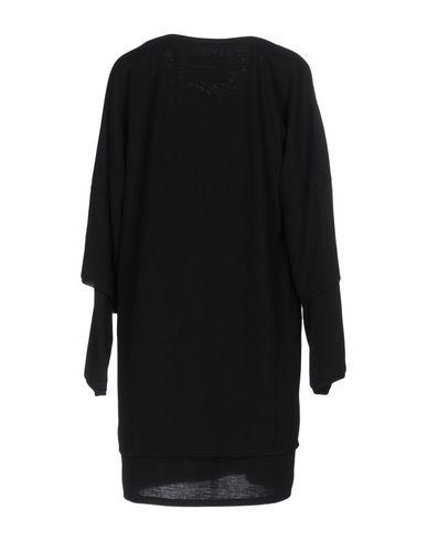 Фото 2 - Женское короткое платье BAD SPIRIT черного цвета