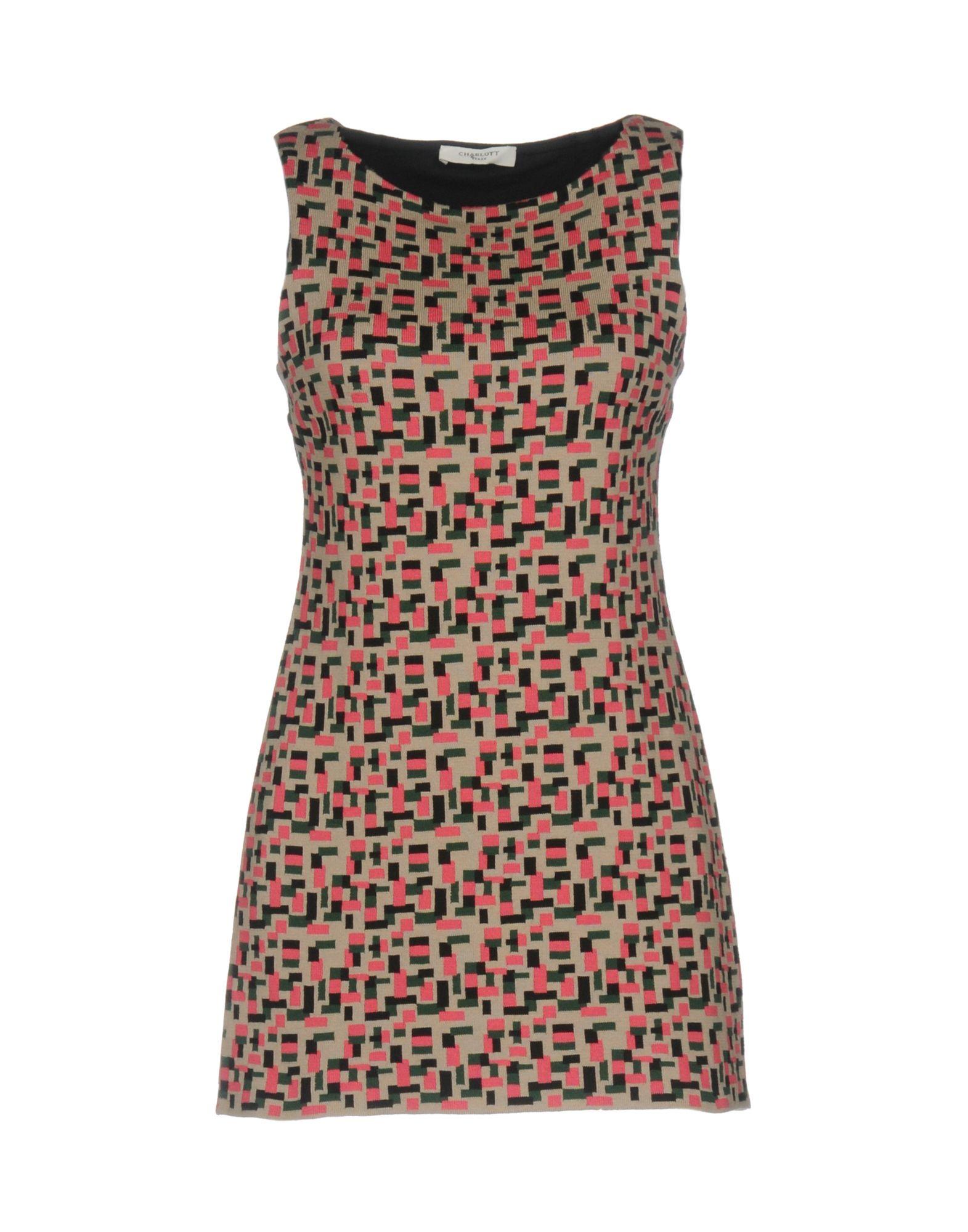 charlott платье 861 10 синий CHARLOTT Короткое платье