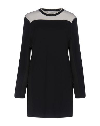 Фото - Женское короткое платье WANDA NYLON темно-синего цвета