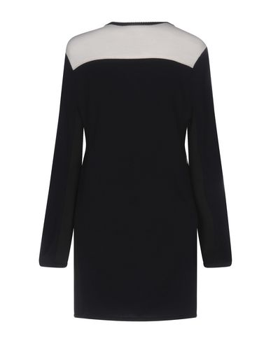 Фото 2 - Женское короткое платье WANDA NYLON темно-синего цвета