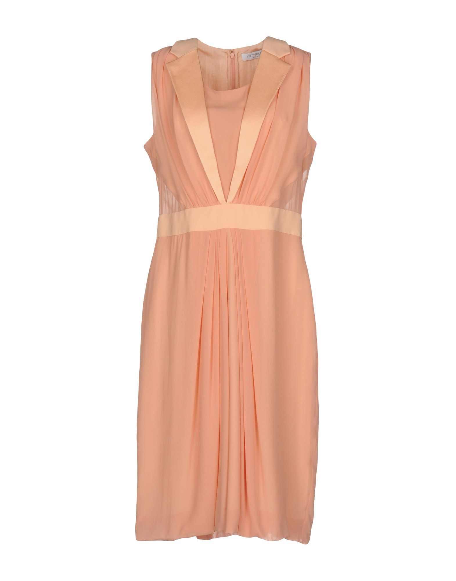 VIKTOR & ROLF Платье до колена цены онлайн