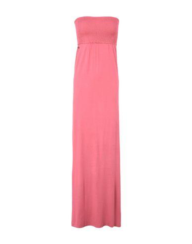 Фото - Женское длинное платье MANILA GRACE DENIM кораллового цвета
