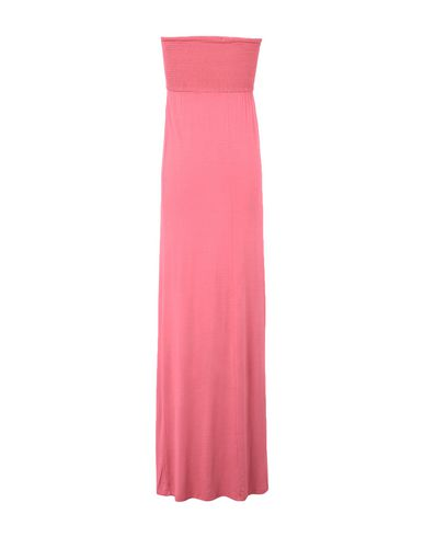 Фото 2 - Женское длинное платье MANILA GRACE DENIM кораллового цвета