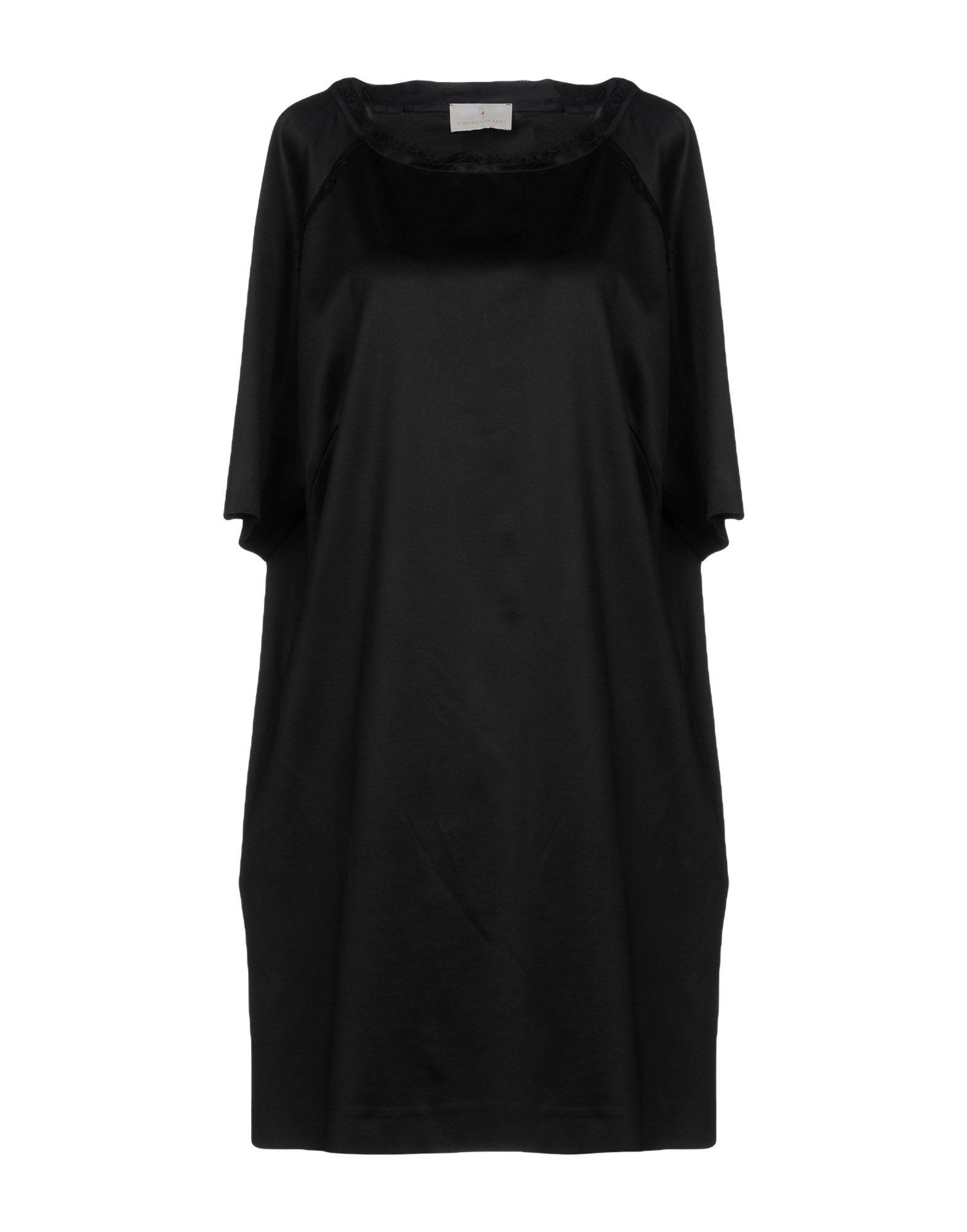 цена ROBERTA SCARPA Короткое платье онлайн в 2017 году