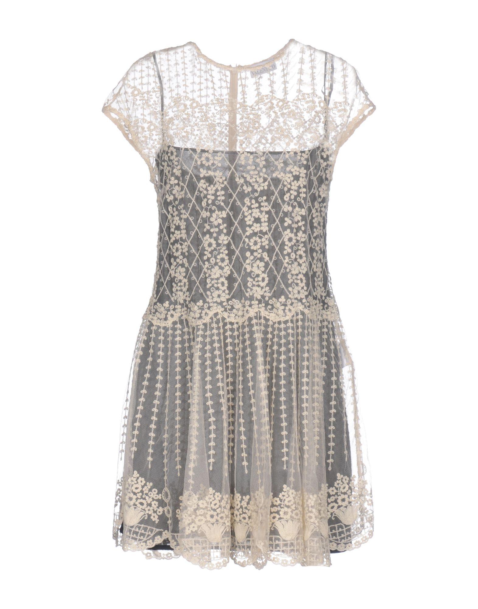 REDValentino Короткое платье женское платье 21050