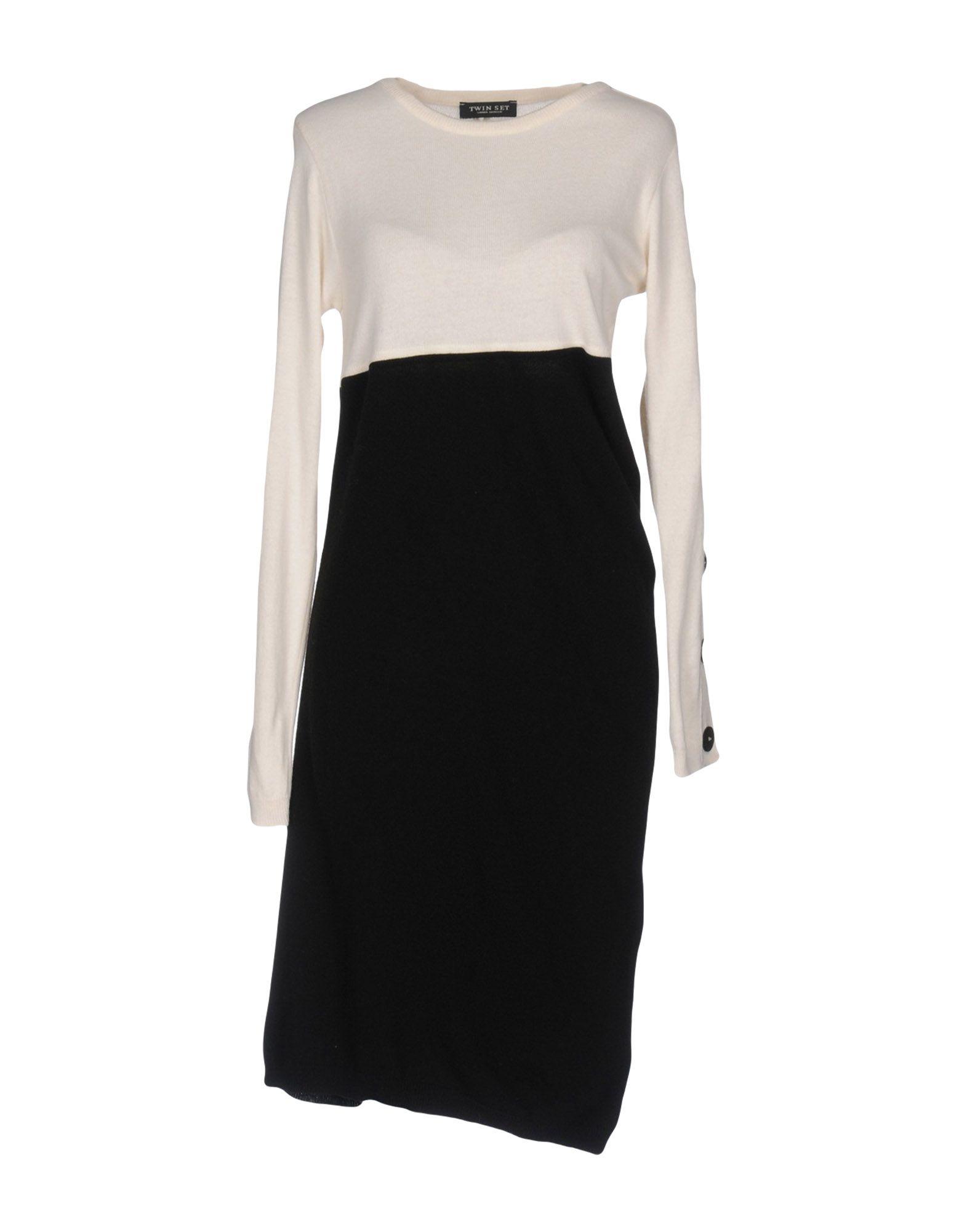 купить TWINSET Платье до колена по цене 14250 рублей