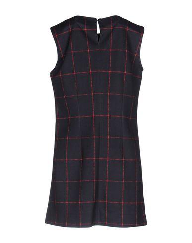 Фото 2 - Женское короткое платье UP TO BE темно-синего цвета