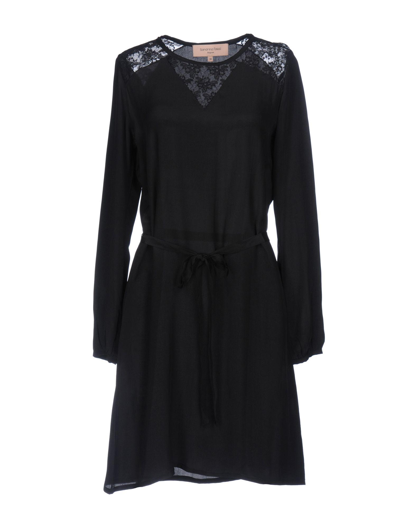 SANDRINA FASOLI Короткое платье sandrina fasoli куртка