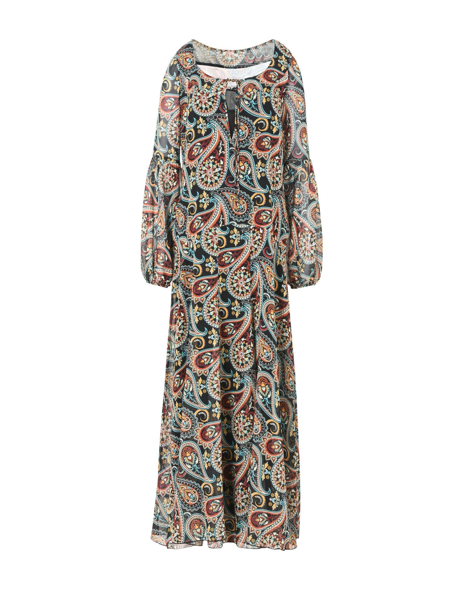 FEMME by MICHELE ROSSI Длинное платье недорго, оригинальная цена