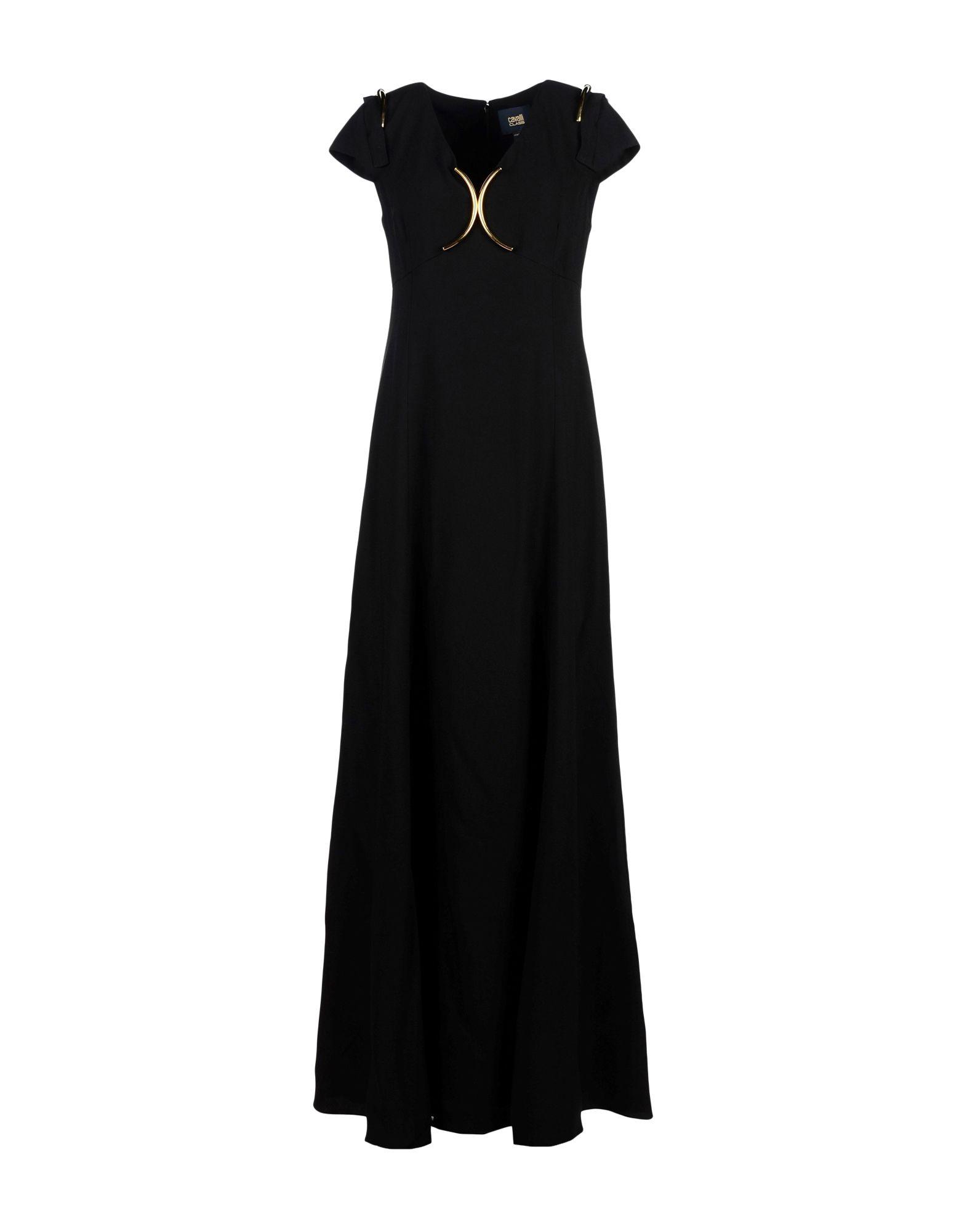 Фото CLASS ROBERTO CAVALLI Длинное платье. Купить с доставкой
