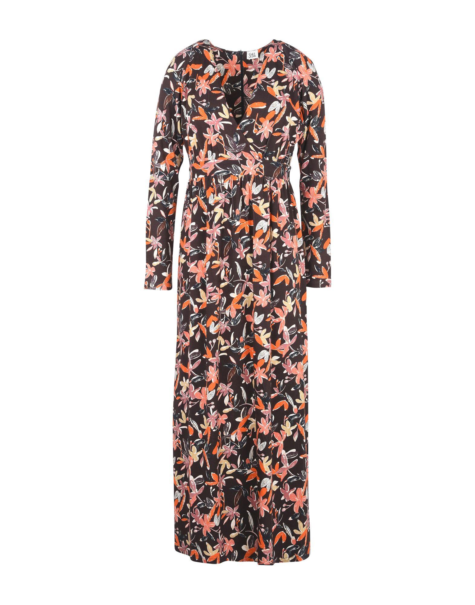 SIYU Платье длиной 3/4 lisa corti платье длиной 3 4