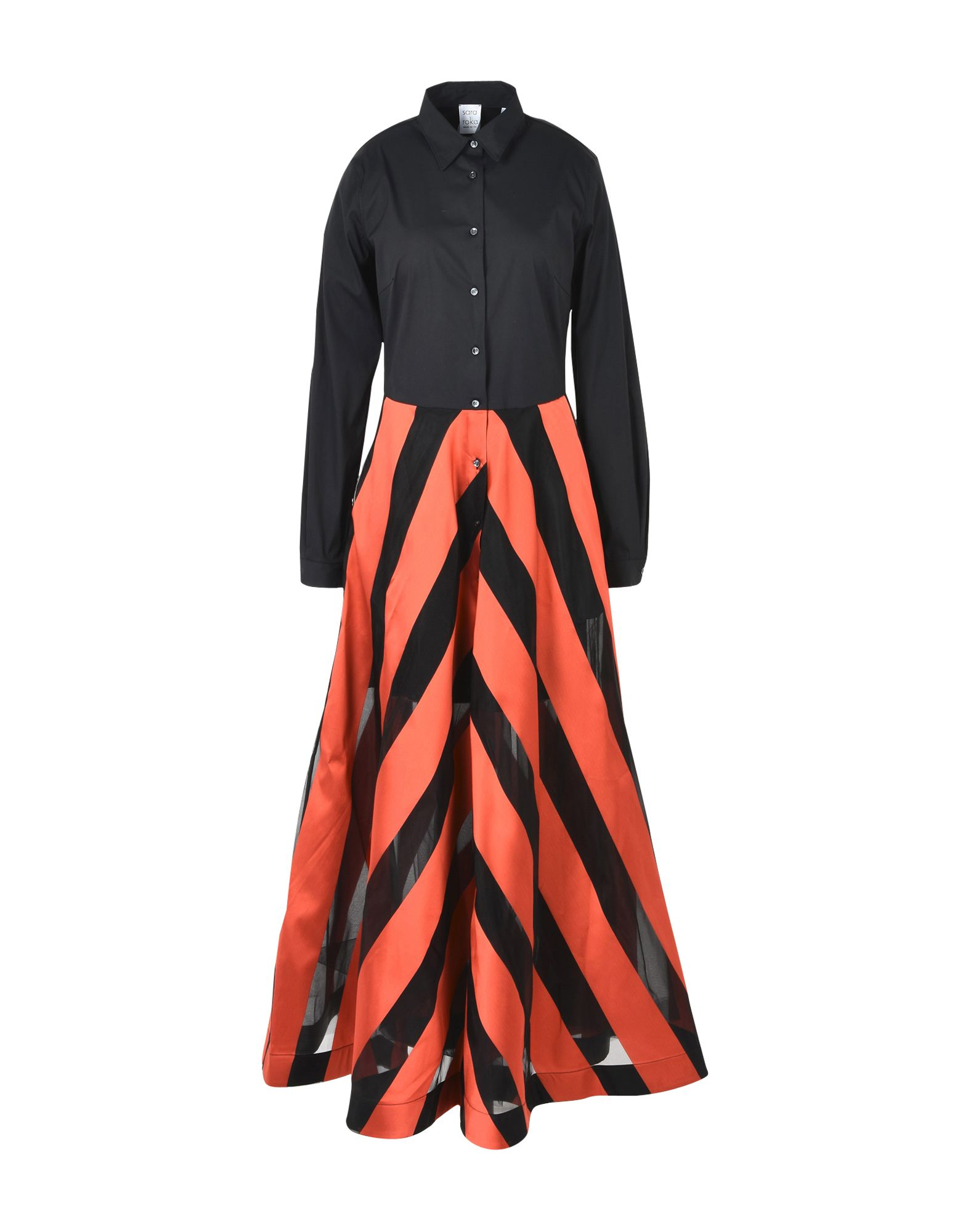 SARA ROKA Длинное платье shoobootique sh017awwps98