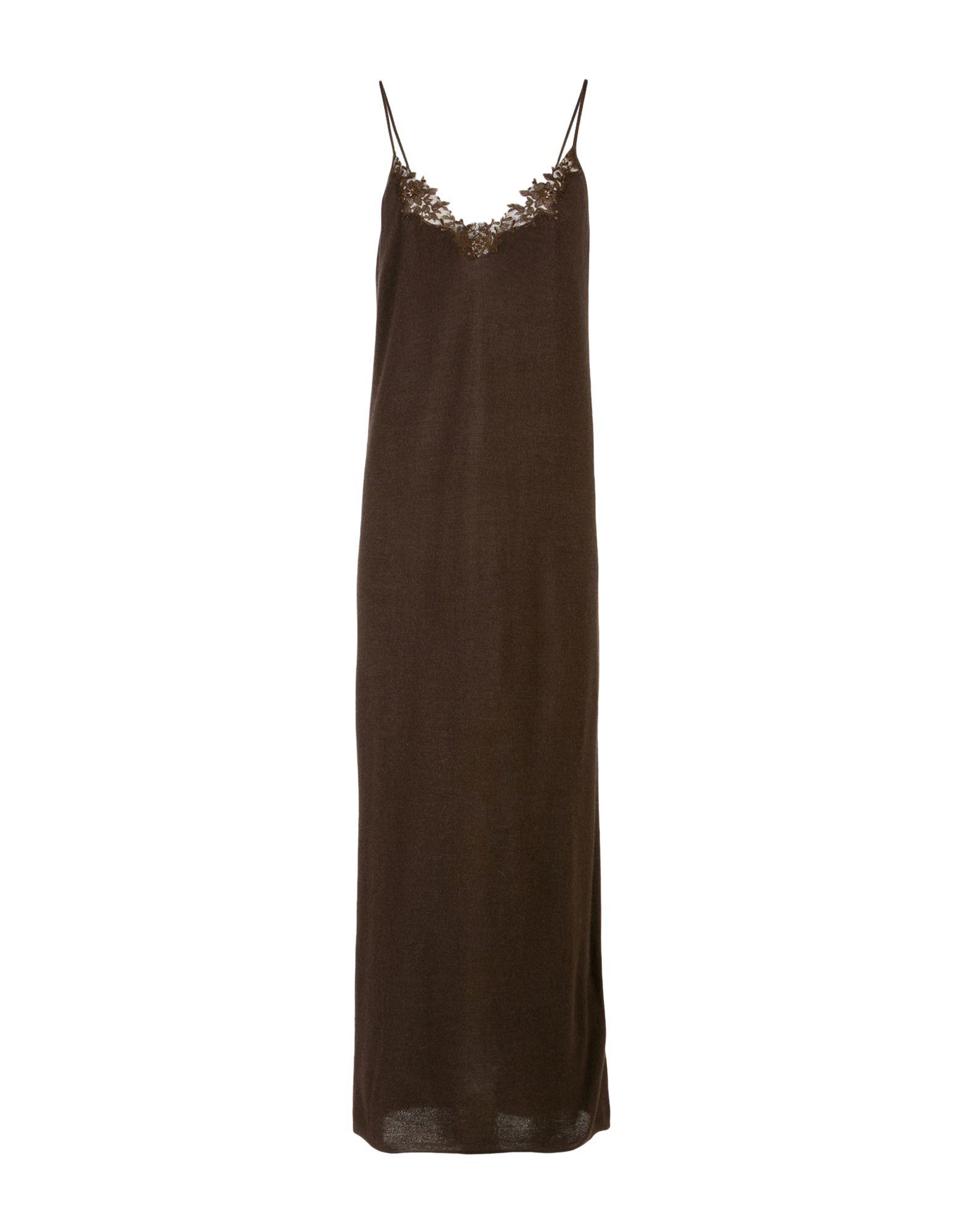 GENTRYPORTOFINO Длинное платье платье