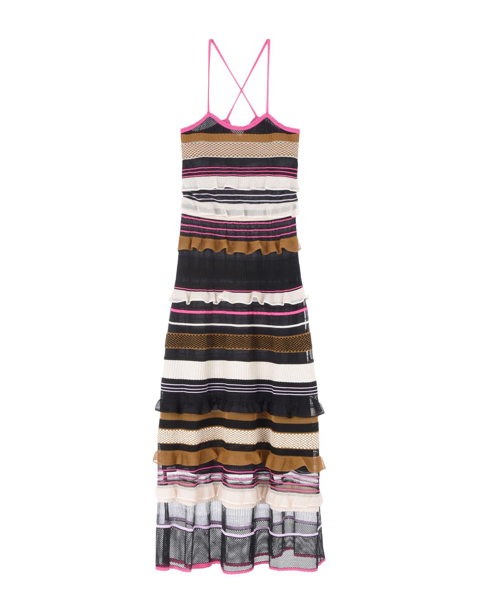 цена SALVATORE FERRAGAMO Длинное платье онлайн в 2017 году