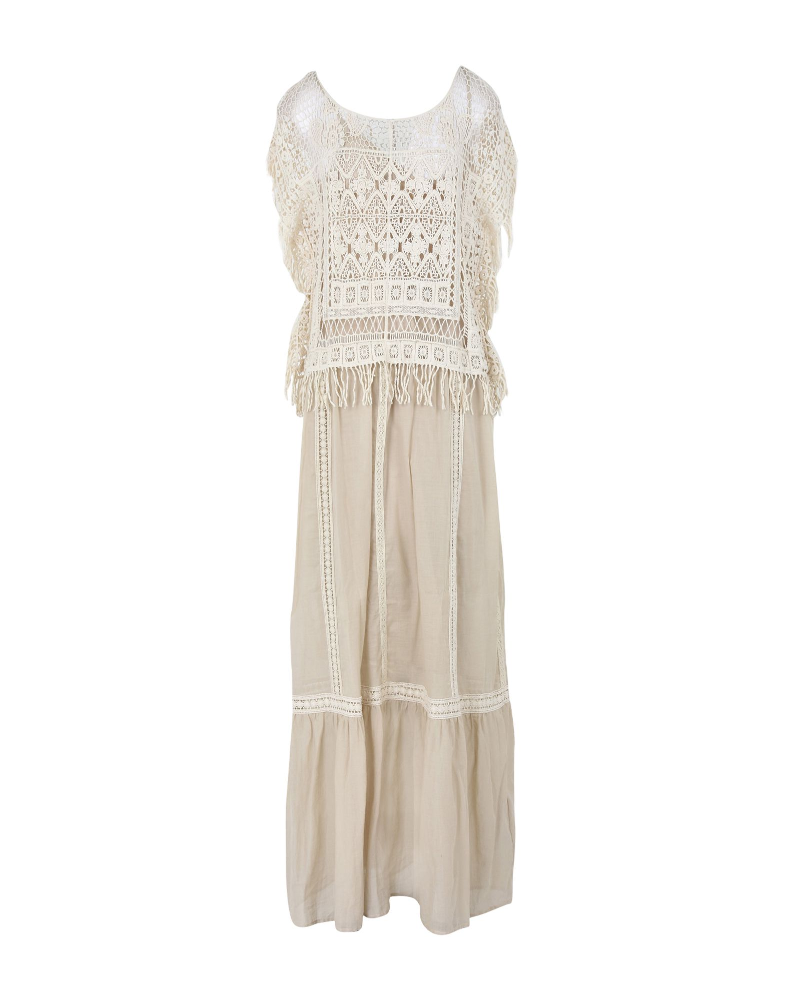 TWIN-SET JEANS Длинное платье цена 2017