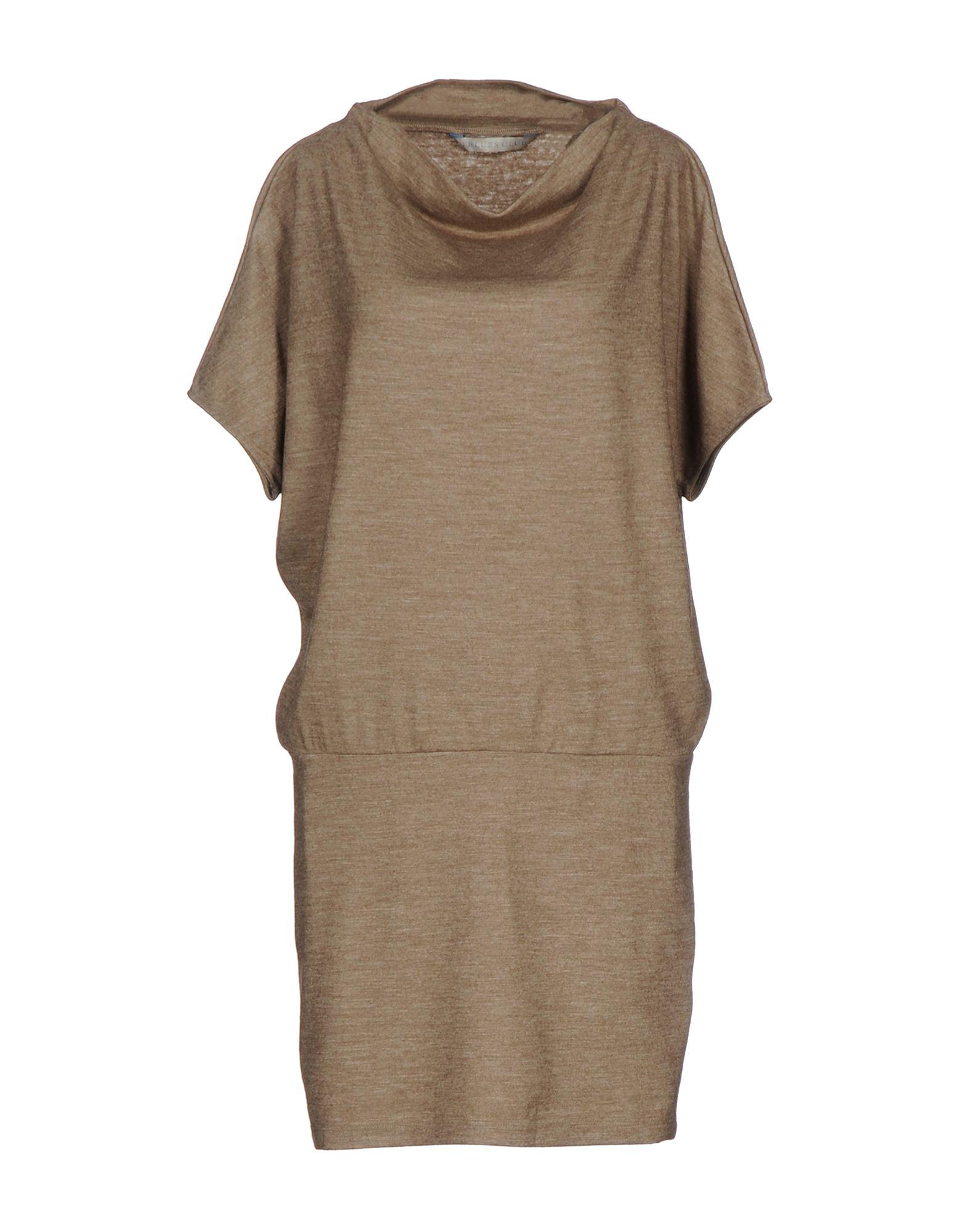 цена I BLUES CLUB Короткое платье онлайн в 2017 году