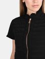 ARMANI EXCHANGE SHORT SLEEVE RUFFLE DETAIL QUILTED JACKET Jacket D e
