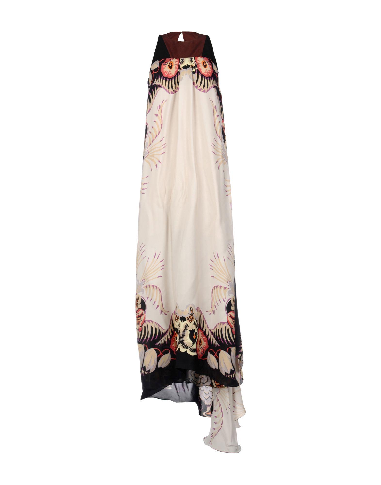 ETRO Damen Langes Kleid Farbe Beige Größe 3