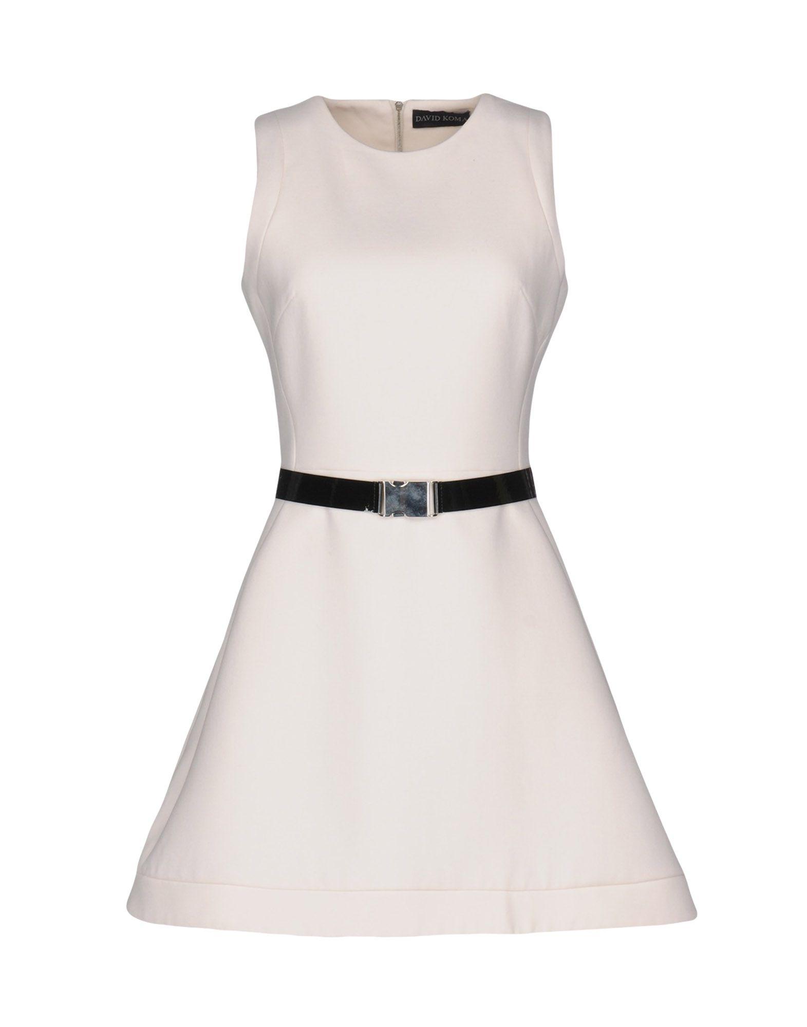 цена  DAVID KOMA Короткое платье  онлайн в 2017 году