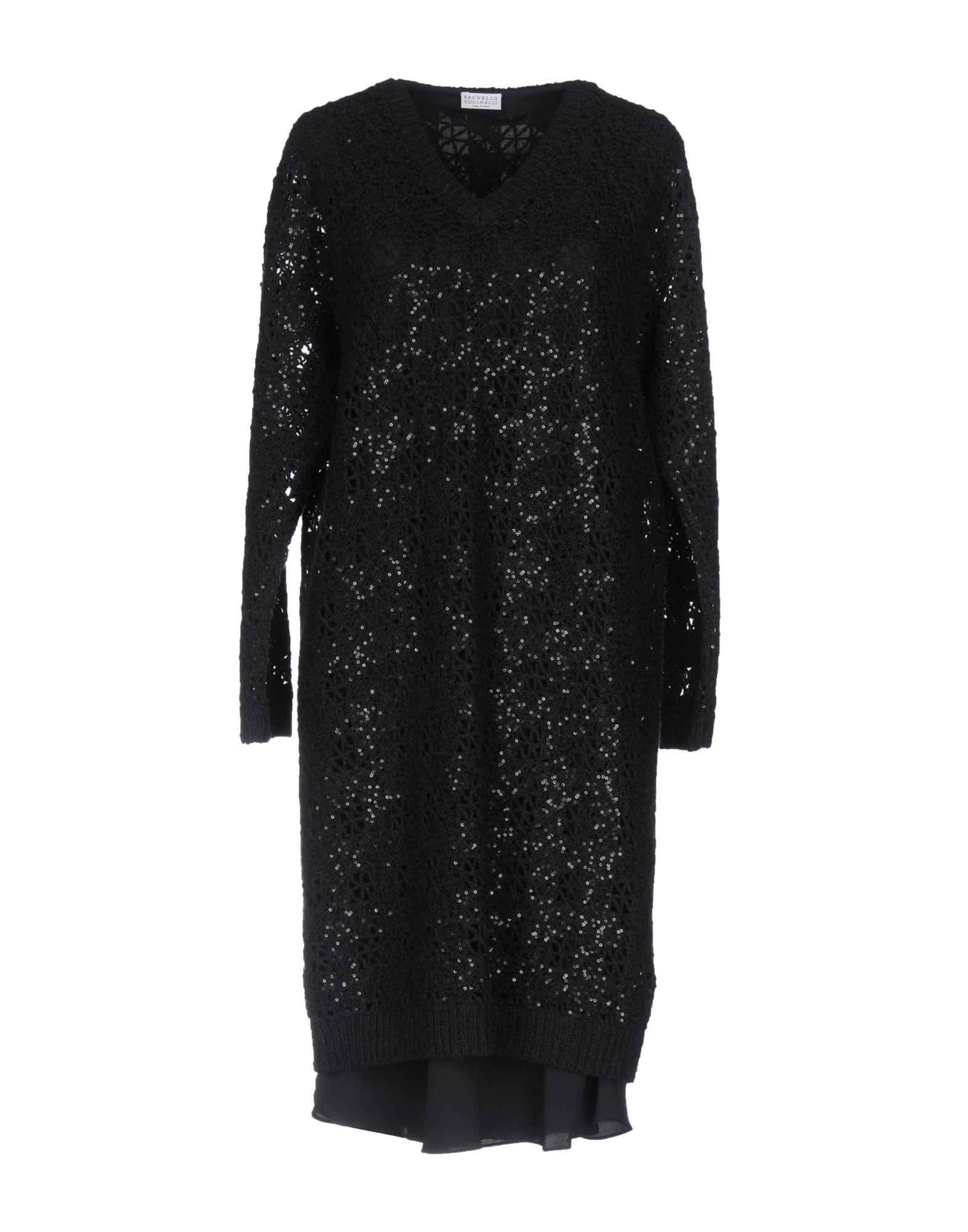 BRUNELLO CUCINELLI Короткое платье anais gillian комбинация