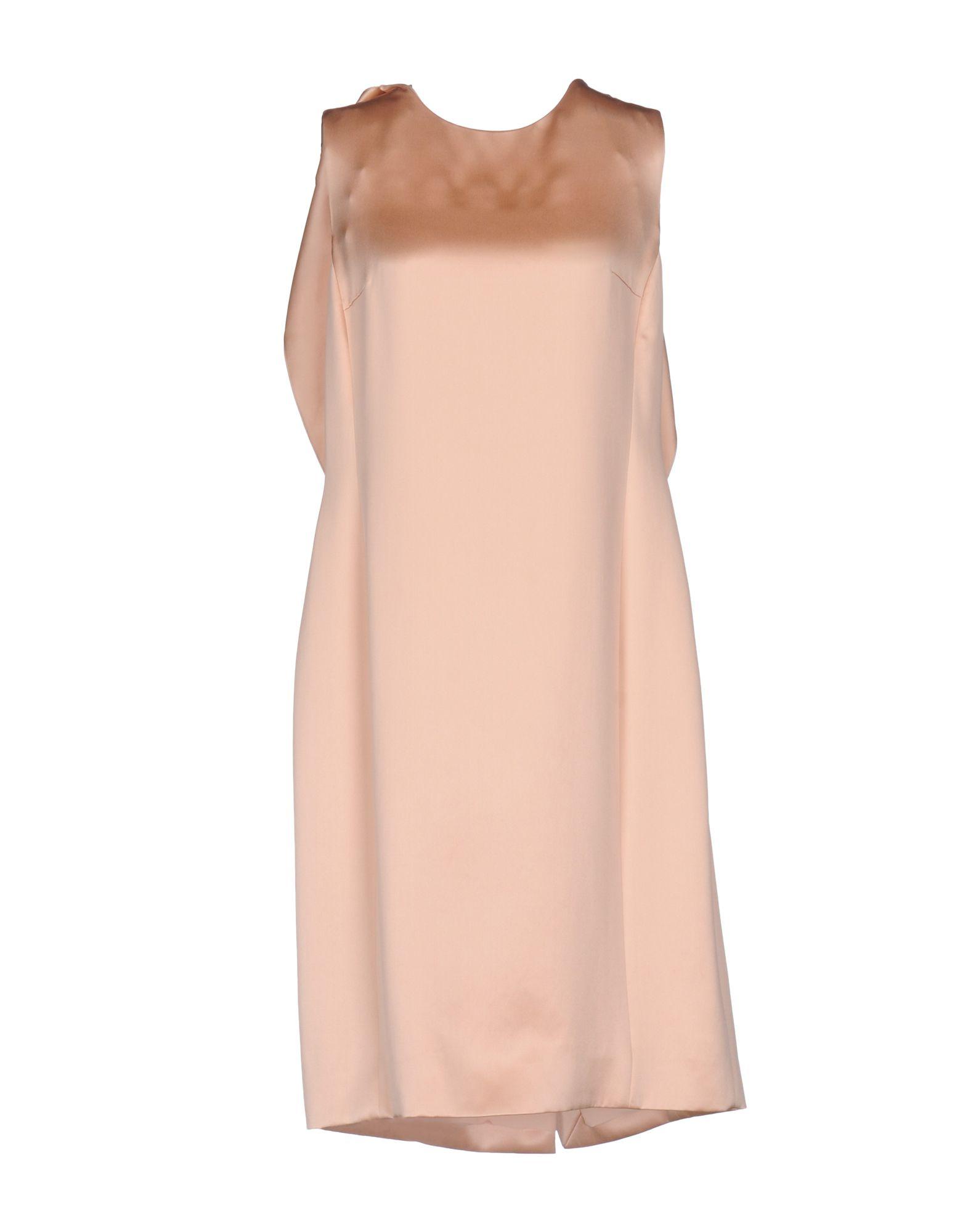 цена SALVATORE FERRAGAMO Платье до колена онлайн в 2017 году