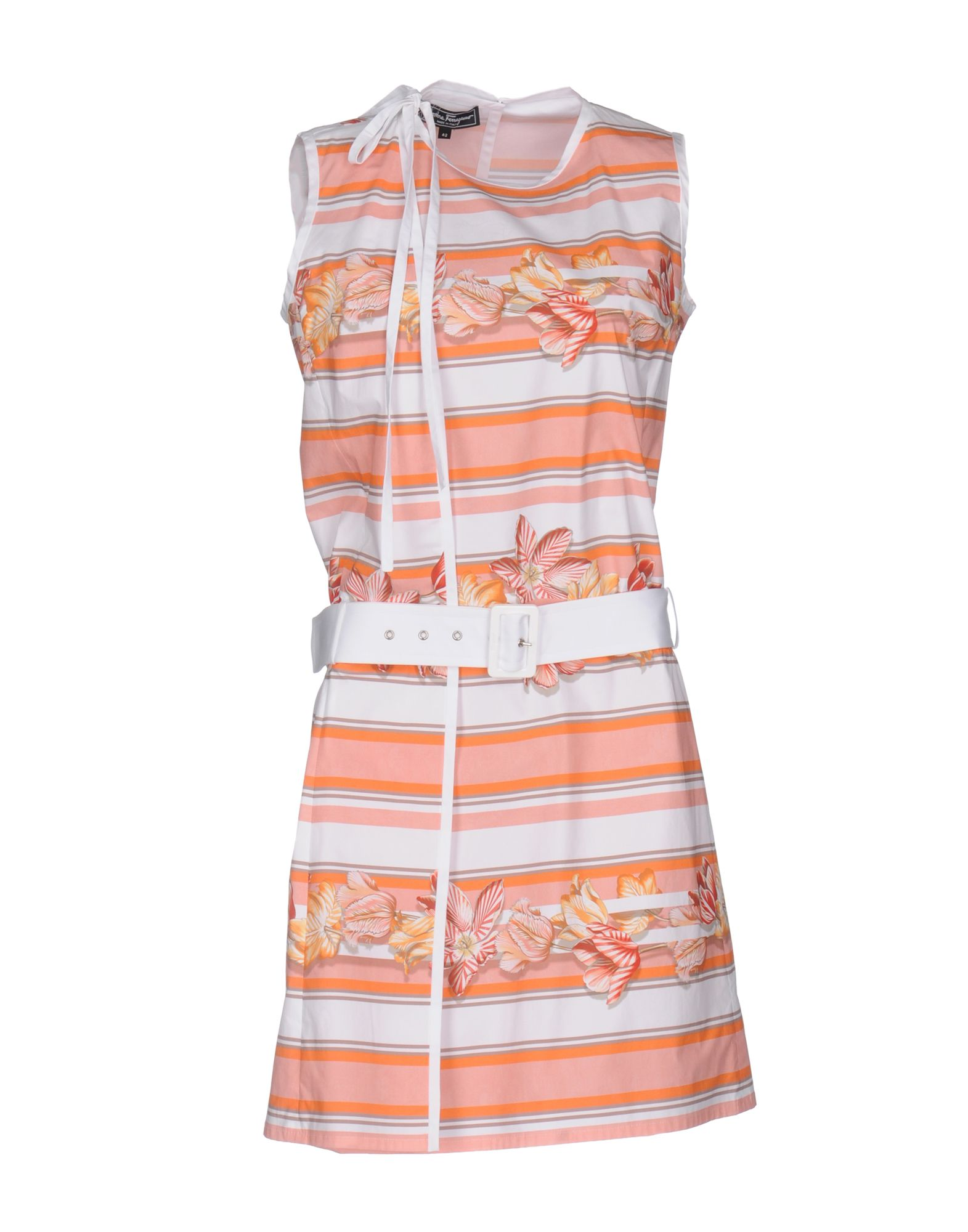 цена SALVATORE FERRAGAMO Короткое платье онлайн в 2017 году