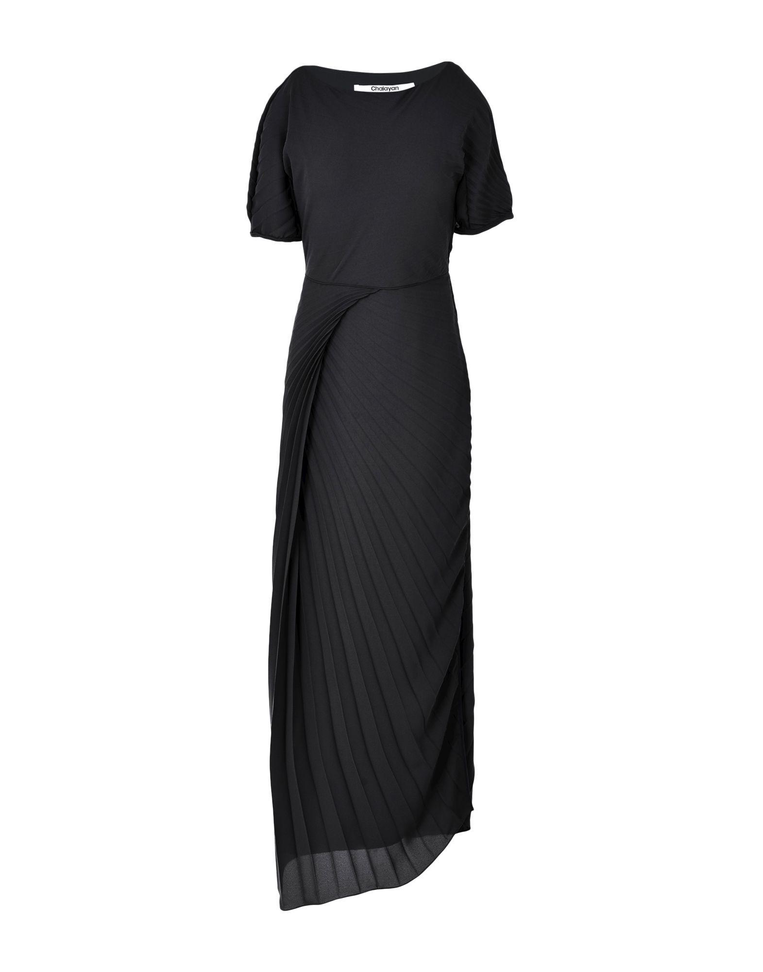 CHALAYAN Длинное платье chalayan платье до колена