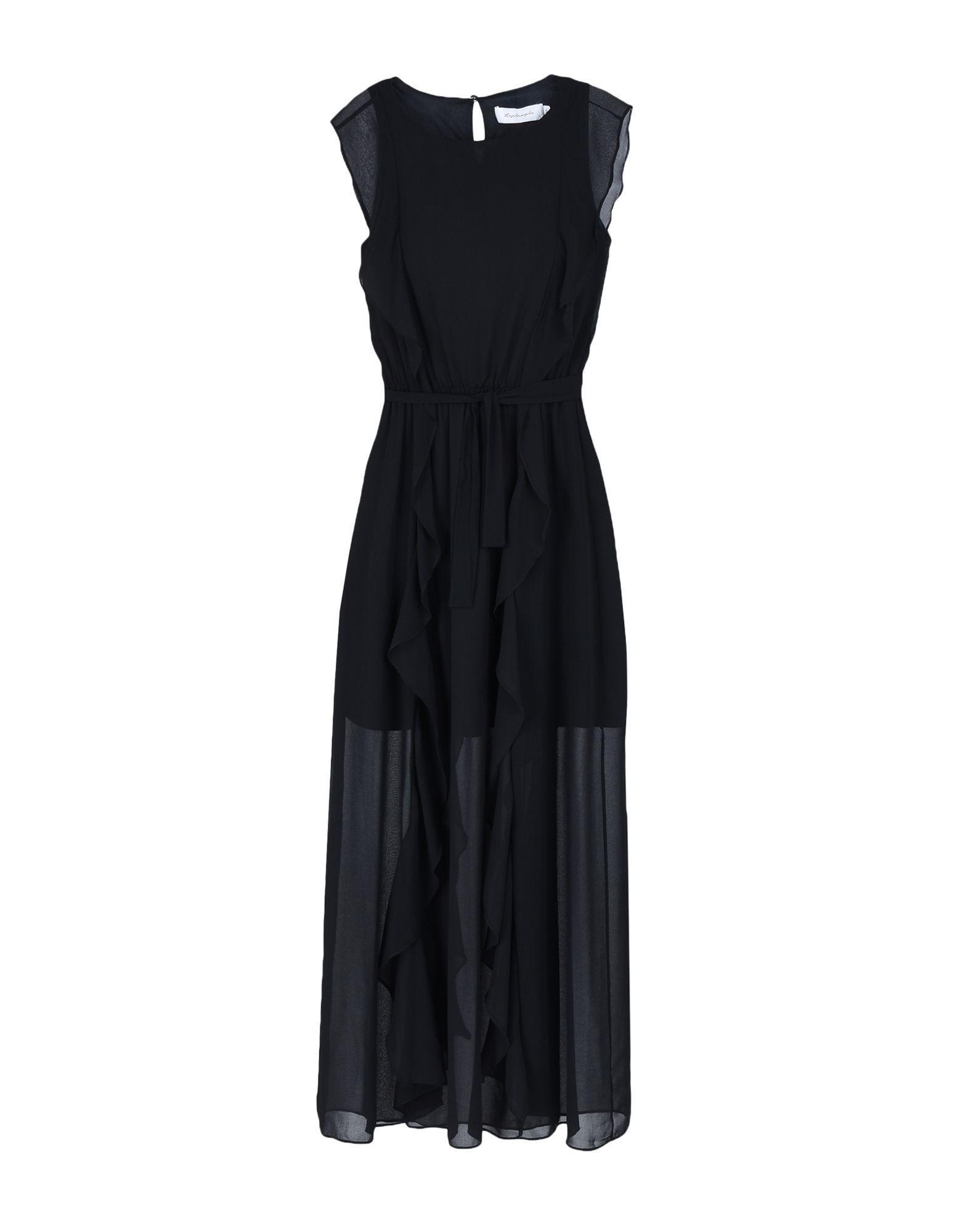 TBAGSLOSANGELES Long Dress in Black