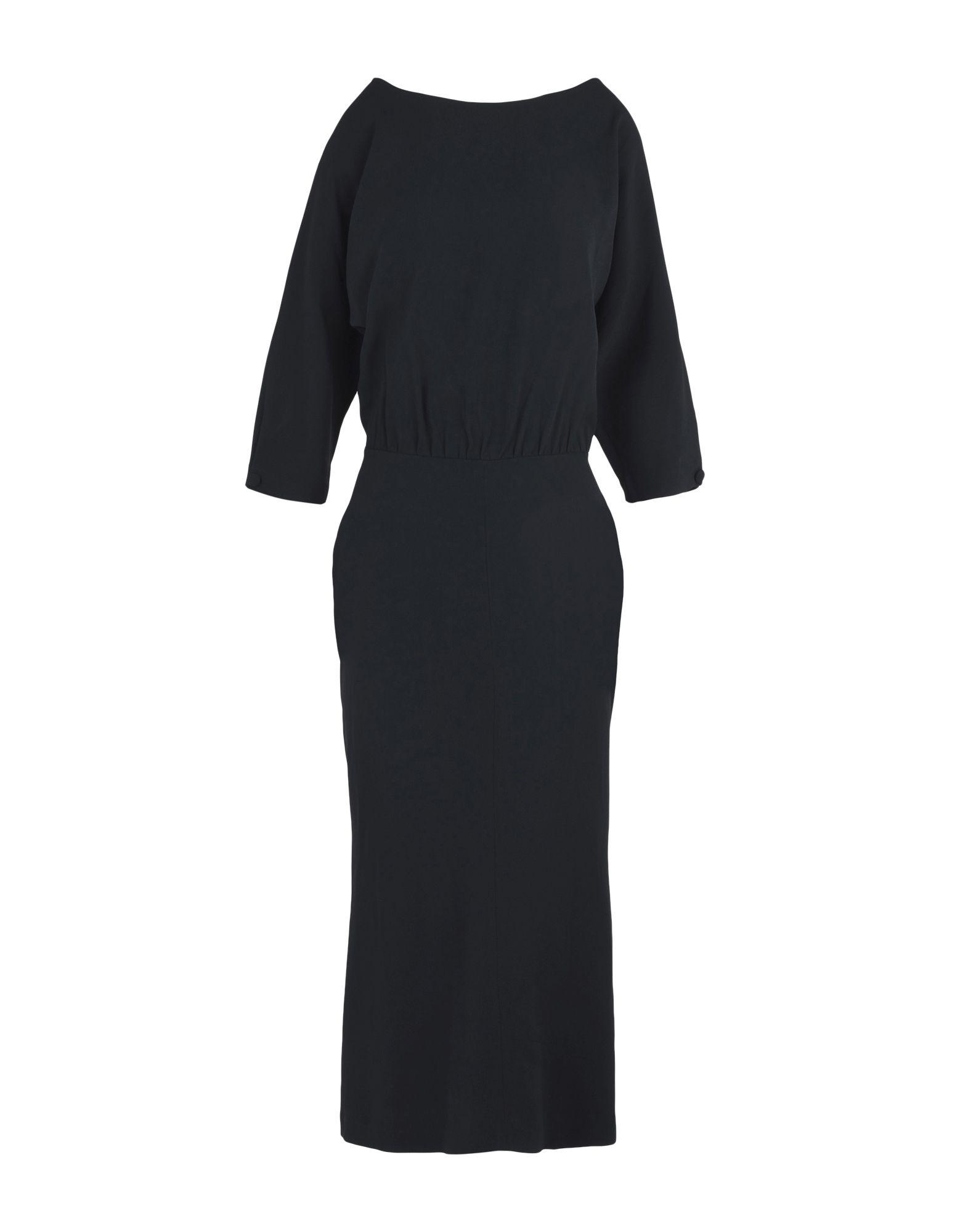 JUCCA Платье длиной 3/4 bobi платье длиной 3 4