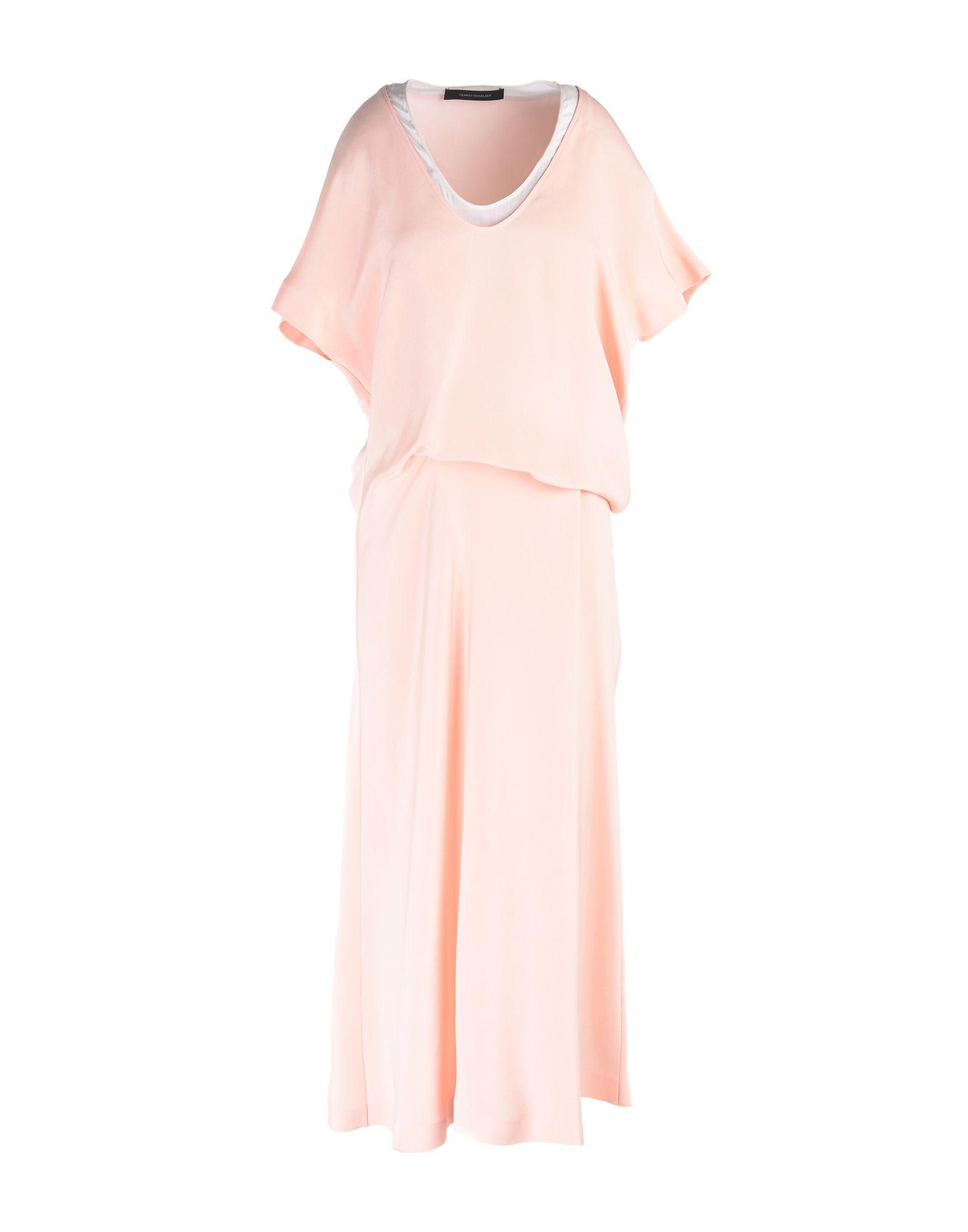 CEDRIC CHARLIER Платье до колена cedric charlier платье до колена