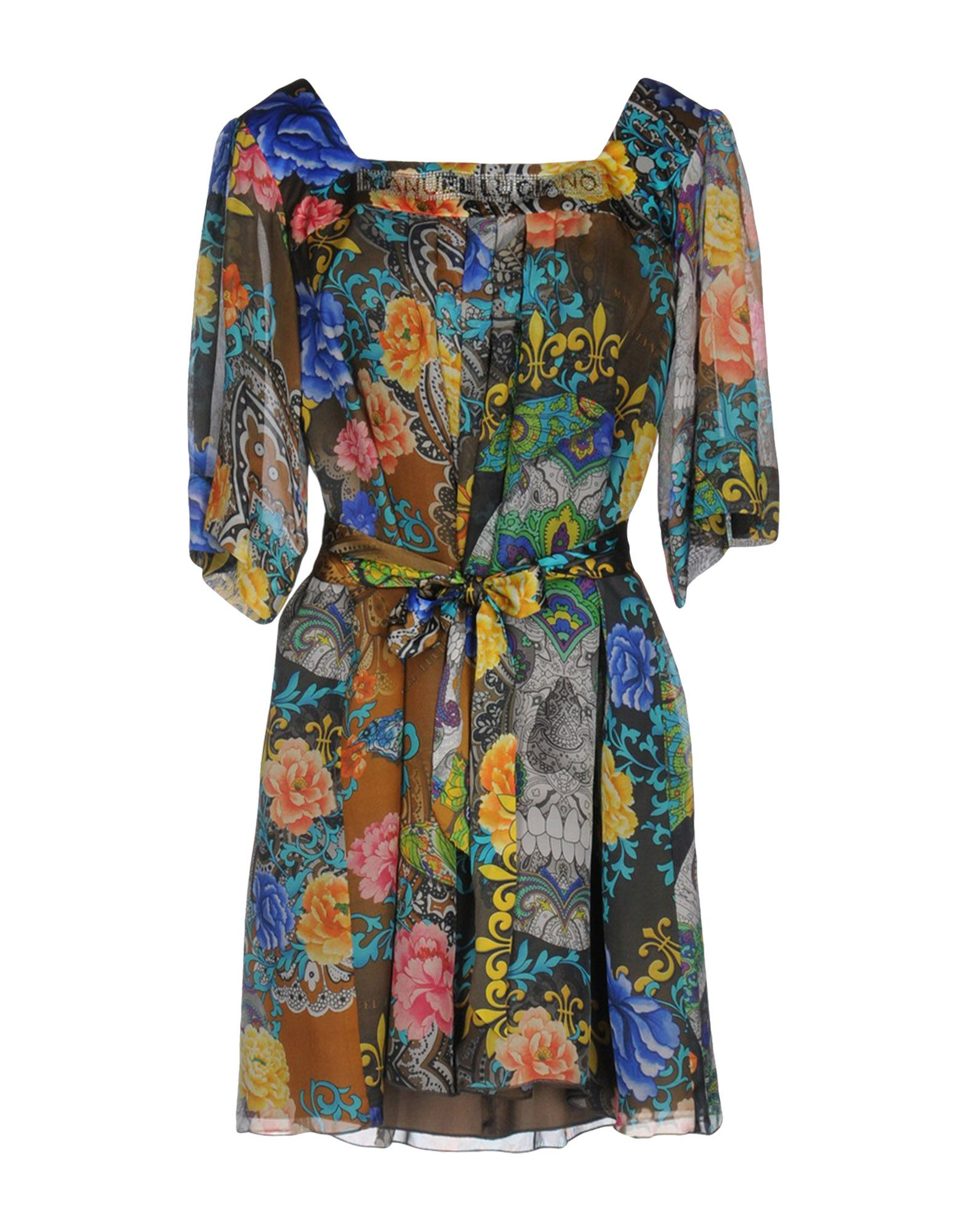 MANUEL LUCIANO Короткое платье joan manuel serrat concepcion
