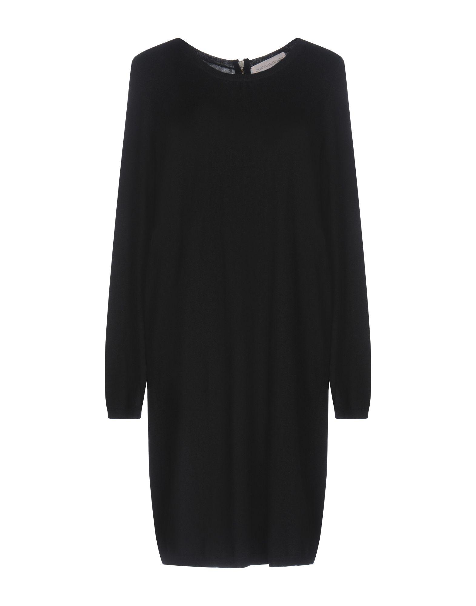 CUSTOMMADE Short Dresses in Black