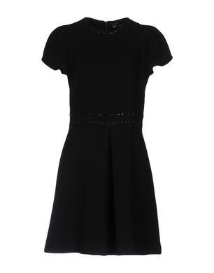 ERMANNO DI SCERVINO Damen Kurzes Kleid Farbe Schwarz Größe 5 Sale Angebote Klein Döbbern