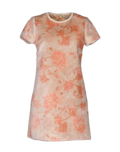 PATRIZIA PEPE Damen Kurzes Kleid Beige Größe 36 100% Polyester
