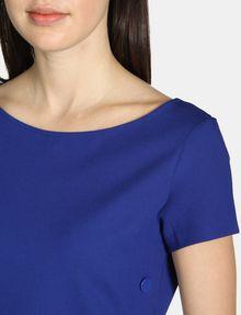 ARMANI EXCHANGE SIDE-BUTTON PONTE BODYCON DRESS Mini dress Woman e