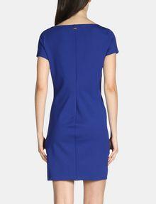 ARMANI EXCHANGE SIDE-BUTTON PONTE BODYCON DRESS Mini dress Woman r