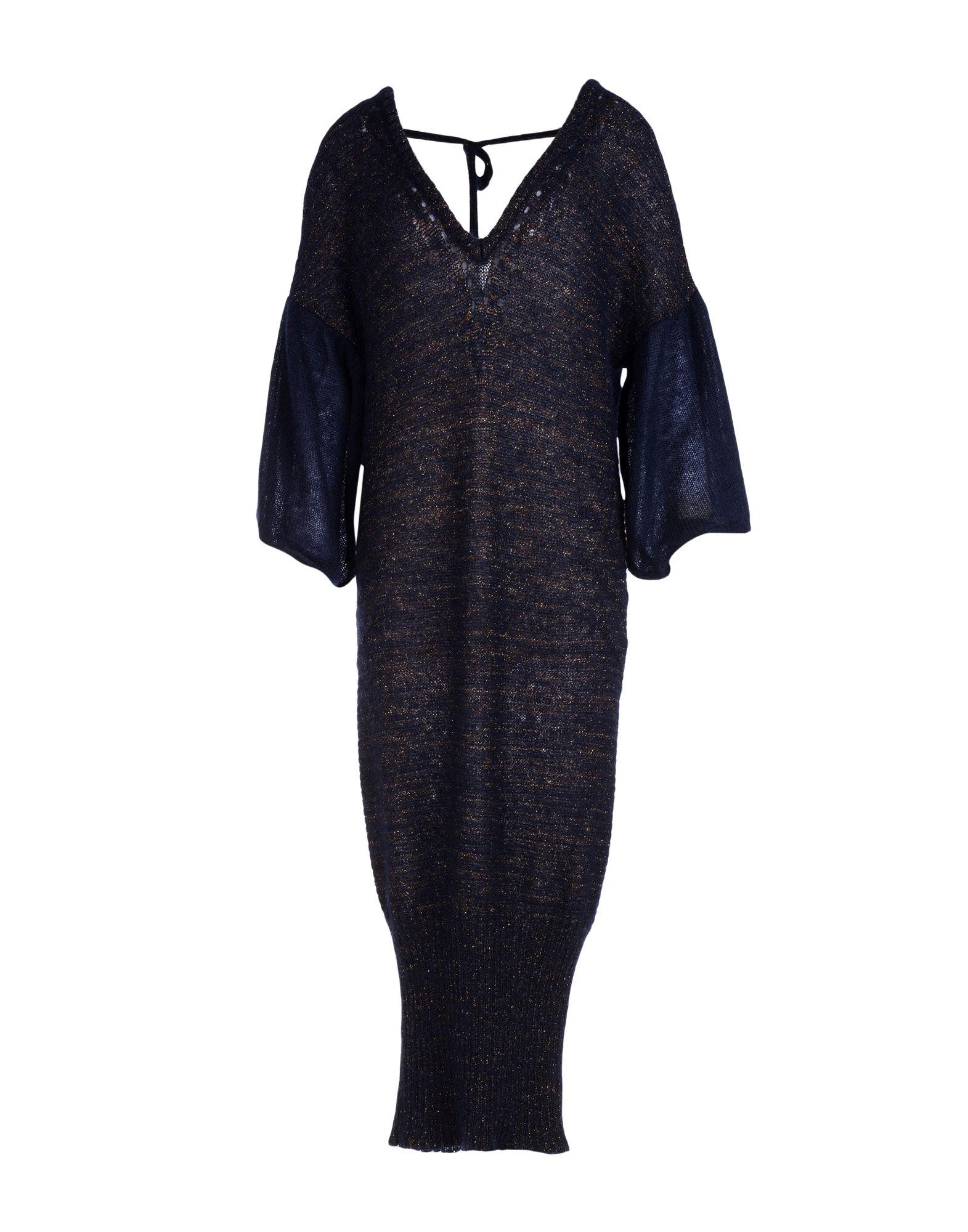 COSTUME NATIONAL Платье длиной 3/4 цена 2017