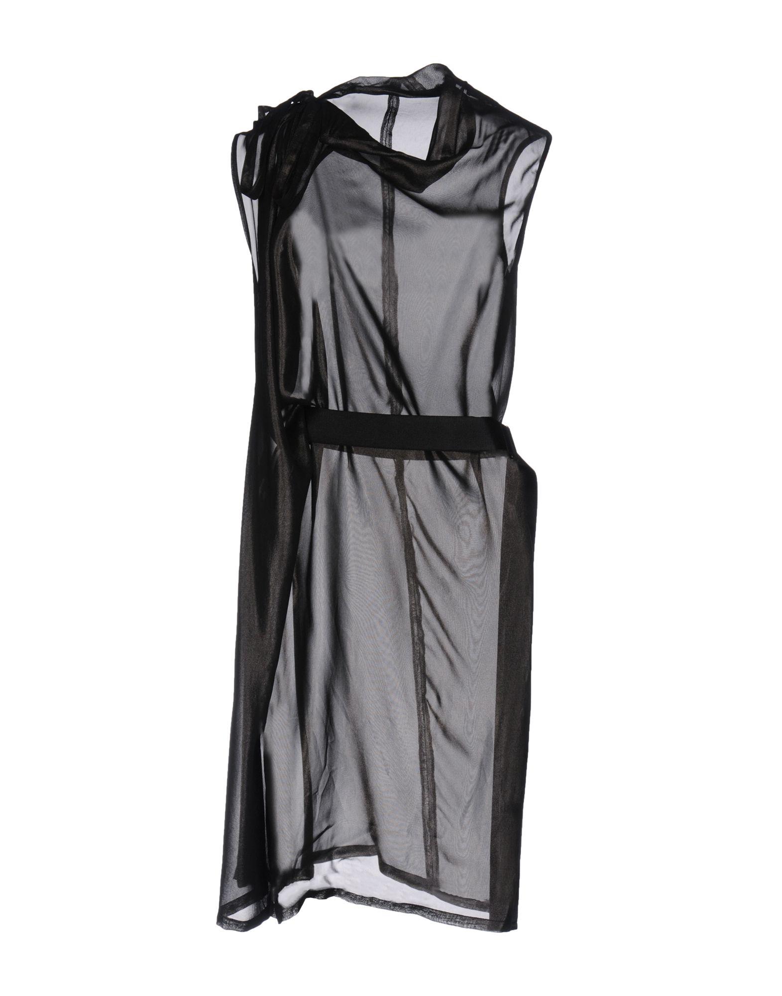 ANN DEMEULEMEESTER Платье до колена neeru kumar платье до колена
